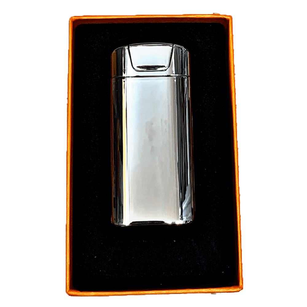 plasma electric silver lighter