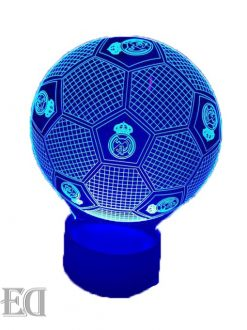 real madrid ball night lamp gift gadgets