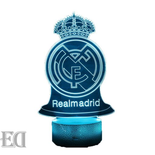 real madrid night lamp gift gadgets