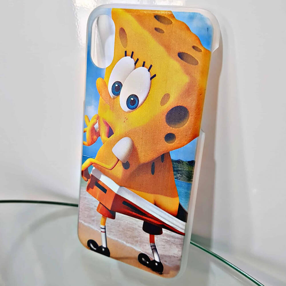 spongebob naked phone case-4