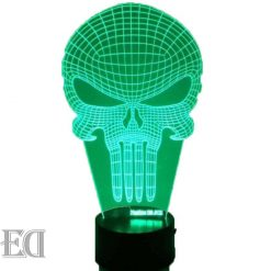 the punisher night lamp gift gadgets